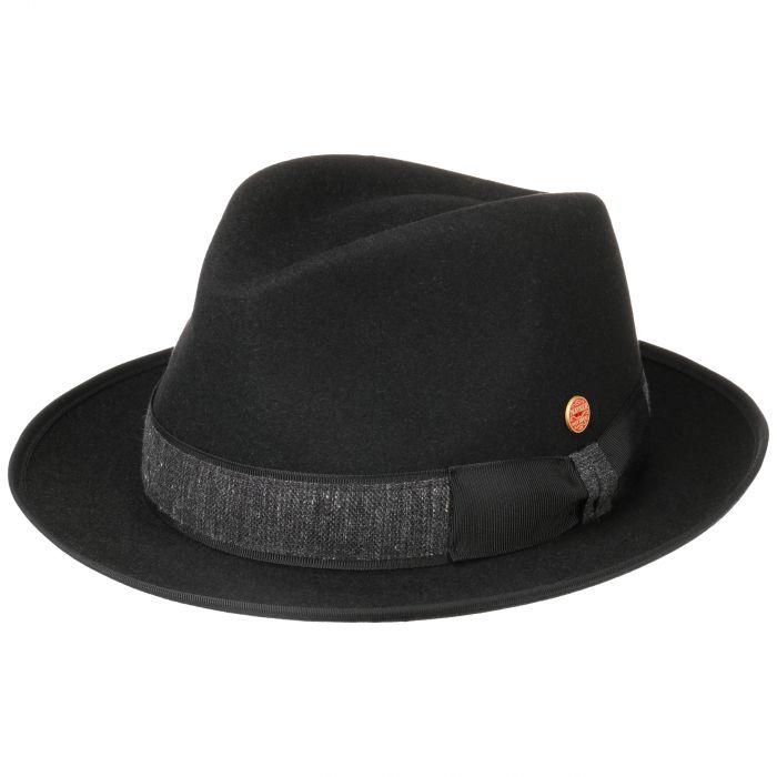 Samuel Hairitage Fur Felt Hat black