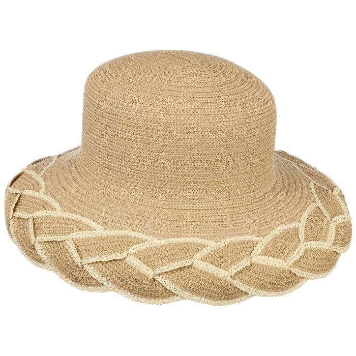 Tiffy Paperbraid Straw Hat camel