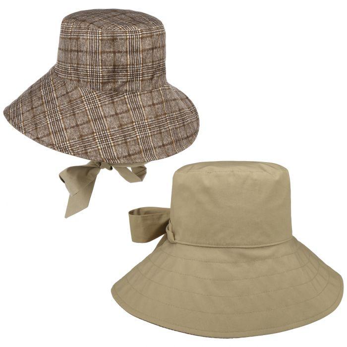 Holly Plus Rain Hat brown
