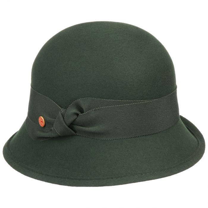 Nannina Soft Wollhut dunkelgrün
