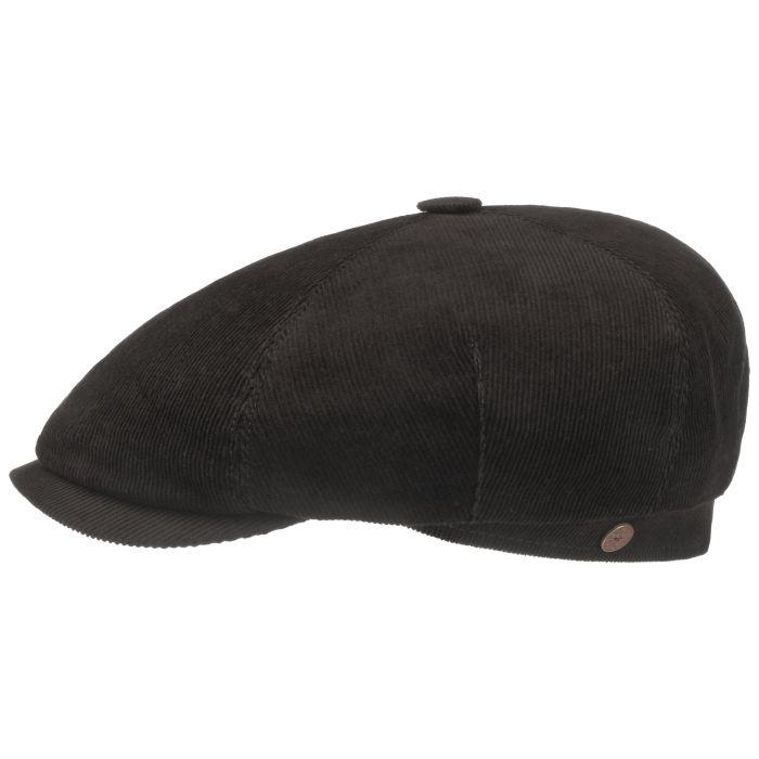 Talisso Cotton Flatcap dunkelbraun